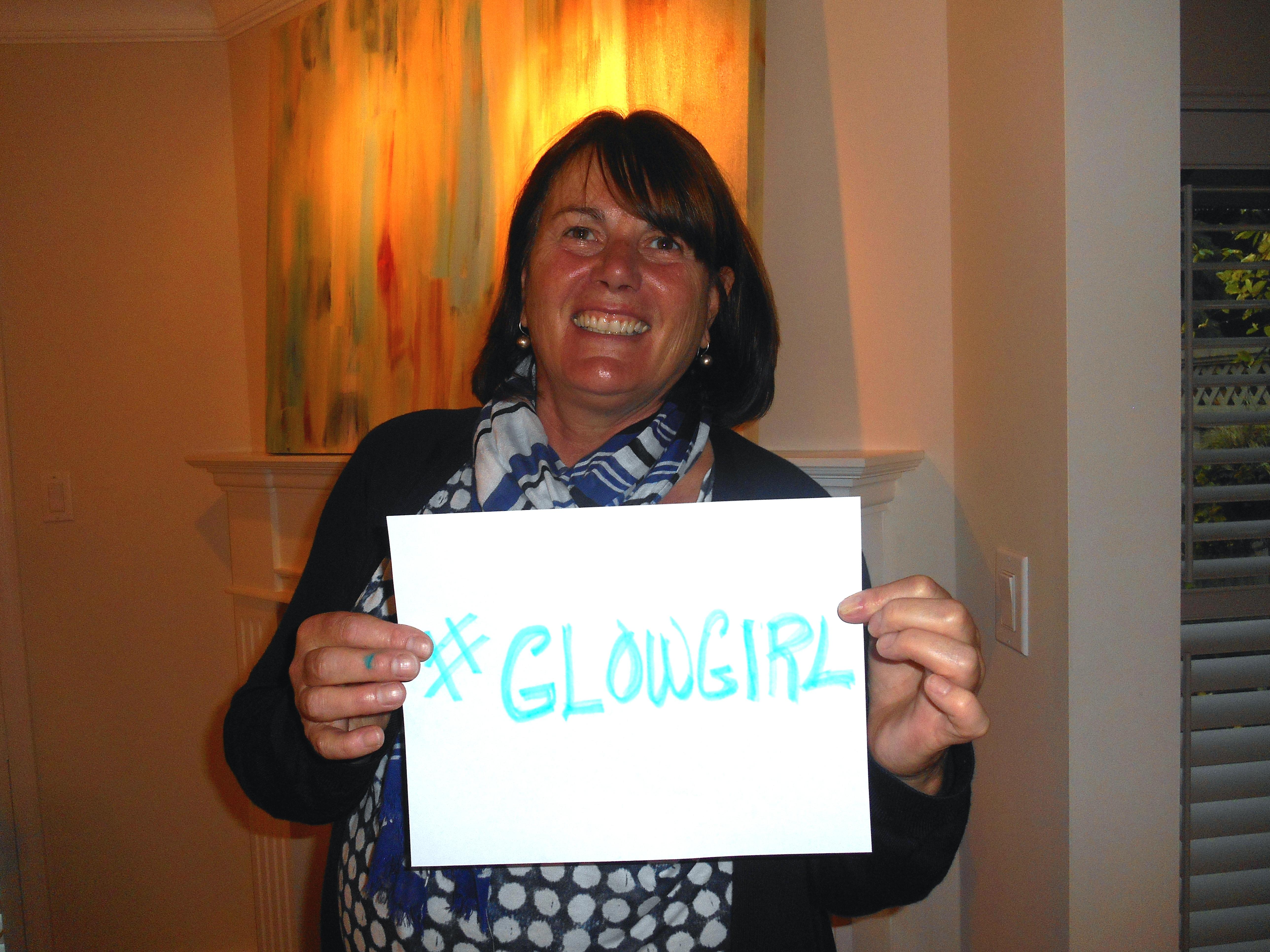 Glow Girl! Linda Adsetts