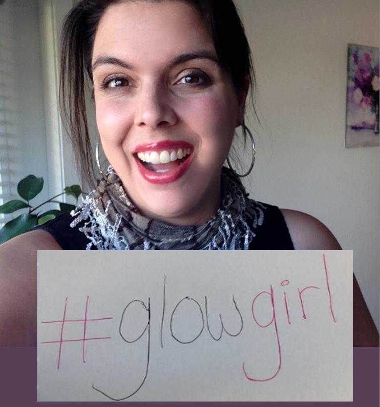 Glow Girl! Gina Silvestri