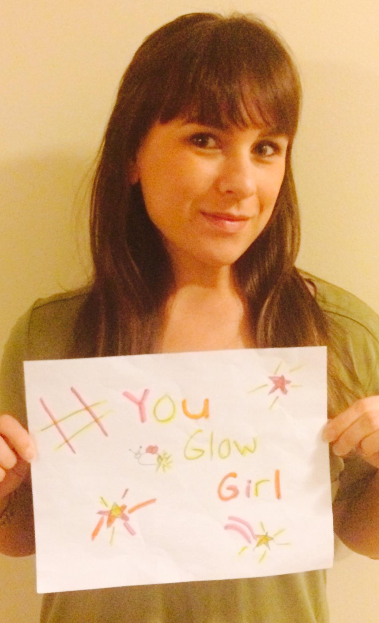 Glow Girl! Jamie Khau