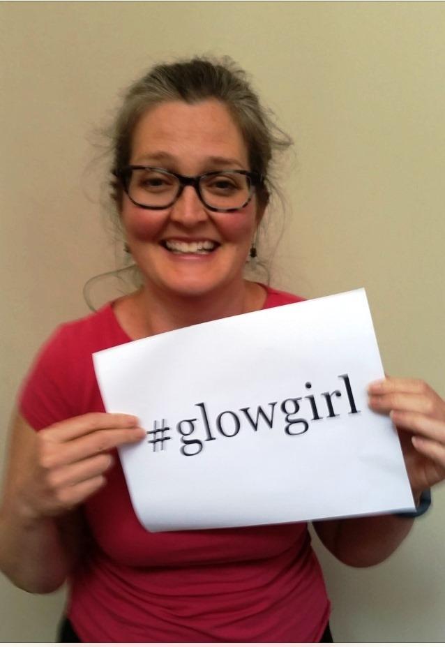 Glow Girl! Kelly Covert